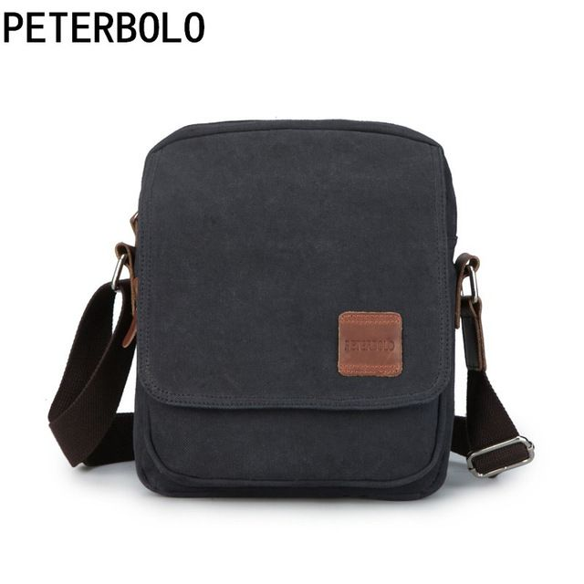 Check it on our site Peterbolo Peterbolo High Quality Canvas Men Shoulder Bag Casual Small Men Crossbody Bag Vintage Travel Bag just only $15.33 with free shipping worldwide  #crossbodybagsformen Plese click on picture to see our special price for you
