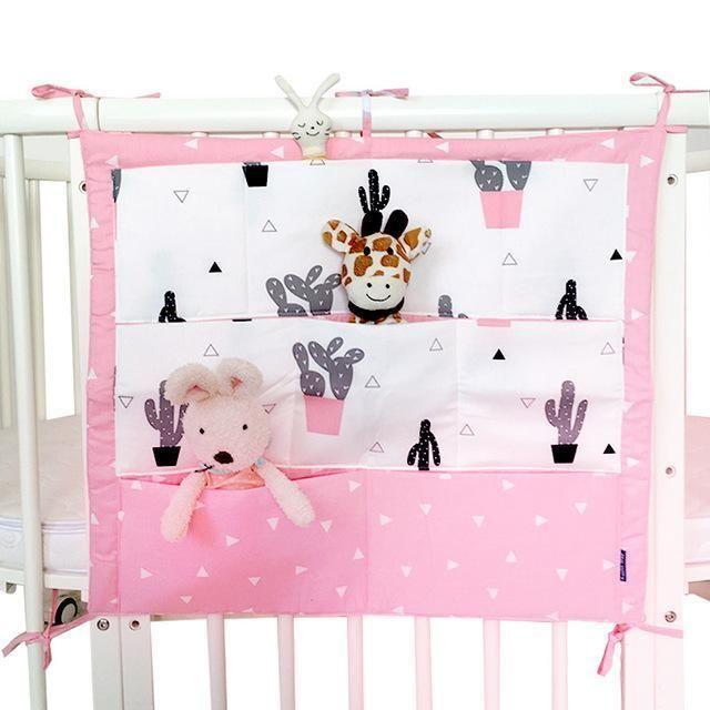 ORGANISER BABY TIDY COT BED CRIB NURSERY HANGING STORAGE MANY DESIGNS BABYMAM