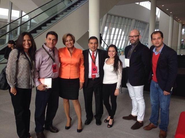 """El primer encuentro de jóvenes líderes millennial o generación y """"Gen M Summit"""". Uno de los conferencistas fue Gustavo Pérez Berlanga, director de RS de Restaurantes Toks. http://www.expoknews.com/buscan-motivar-a-la-generacion-millennial-en-mexico/"""