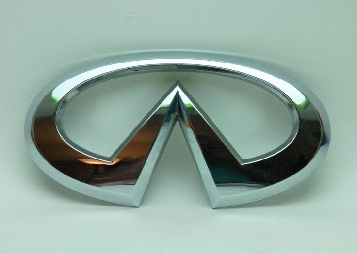 Infiniti g35 sedan oem rear logo emblem 0306 life