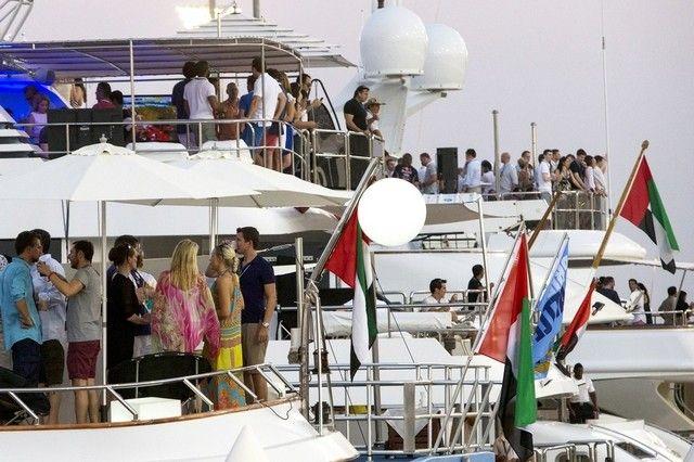 Yacht Parties at Yas Marina 2013  #AbuDhabiGP