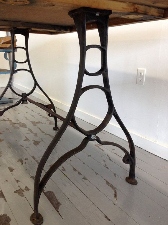 10 Best Images About Cast Iron Table Legs On Pinterest