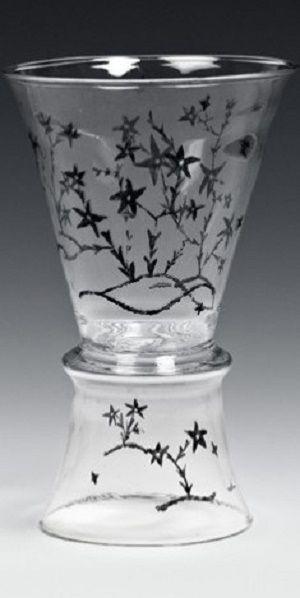 Josef Hoffmann (1870-1956) (form), Hilde Jesser (1894-1985) Vase  1916