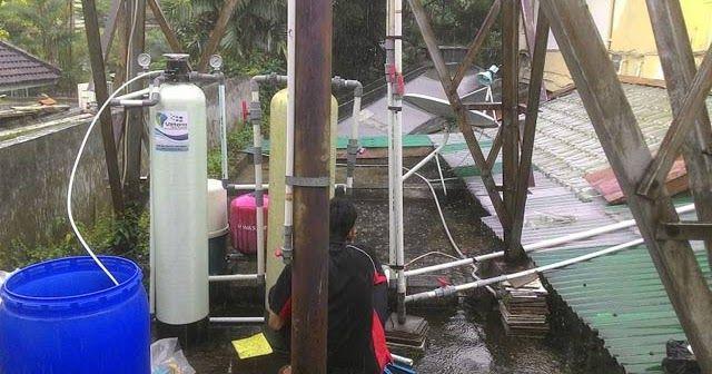 Filter Air Vittera solusi tepat dan handal untuk mengatasi masalah air berkapur di rumah bapak George.