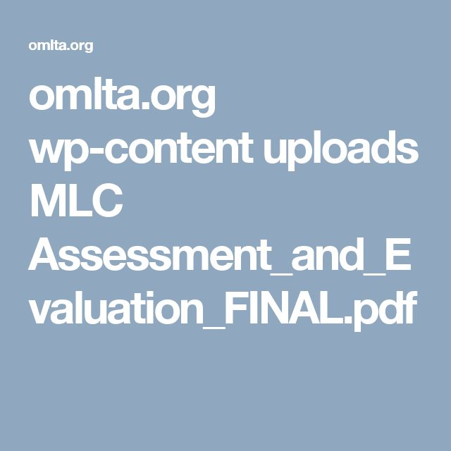 omlta.org wp-content uploads MLC Assessment_and_Evaluation_FINAL.pdf