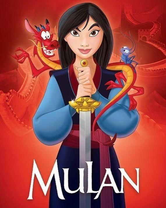Cute Cartoon Diamond Painting Kit Mulan 5d Full Square Round Etsy In 2020 Mulan Disney Mulan Disney Animation