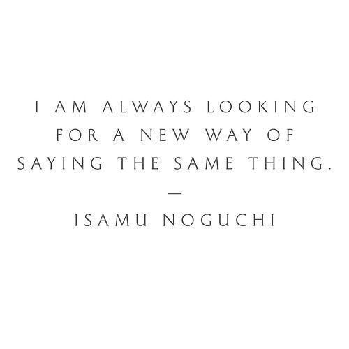 Isamu Noguchi//