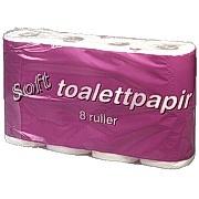 Toalettpapir Soft 2-lag 25m (8)