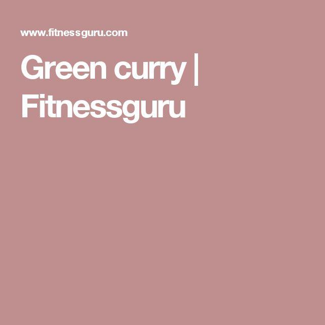 Green curry | Fitnessguru