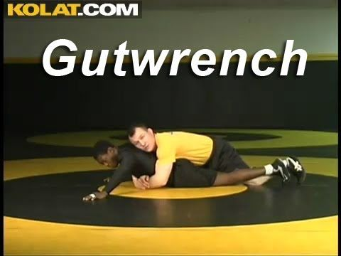 Gutwrench from Leg Lace KOLAT.COM Wrestling Techniques Moves Instruction