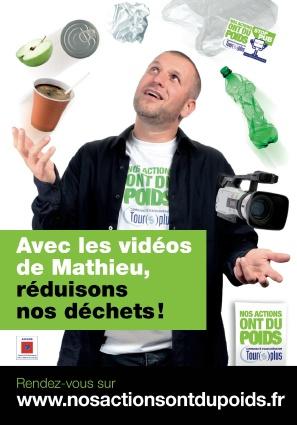 """Campagne """"Réduisons nos déchets"""" de l'ADEME"""