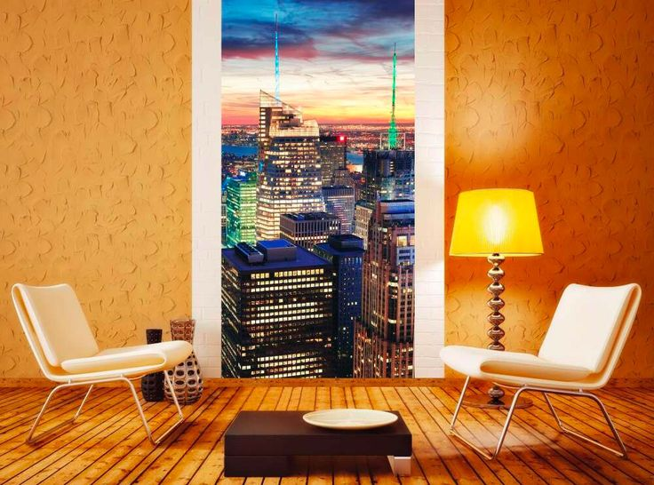 New York ako fototapeta na stenu