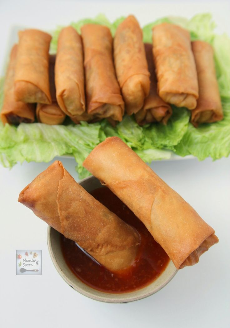These crunchy and delicious spring rolls (Lumpia) are the perfect appetizers for any party and great for snacking, too. These can be made fully…