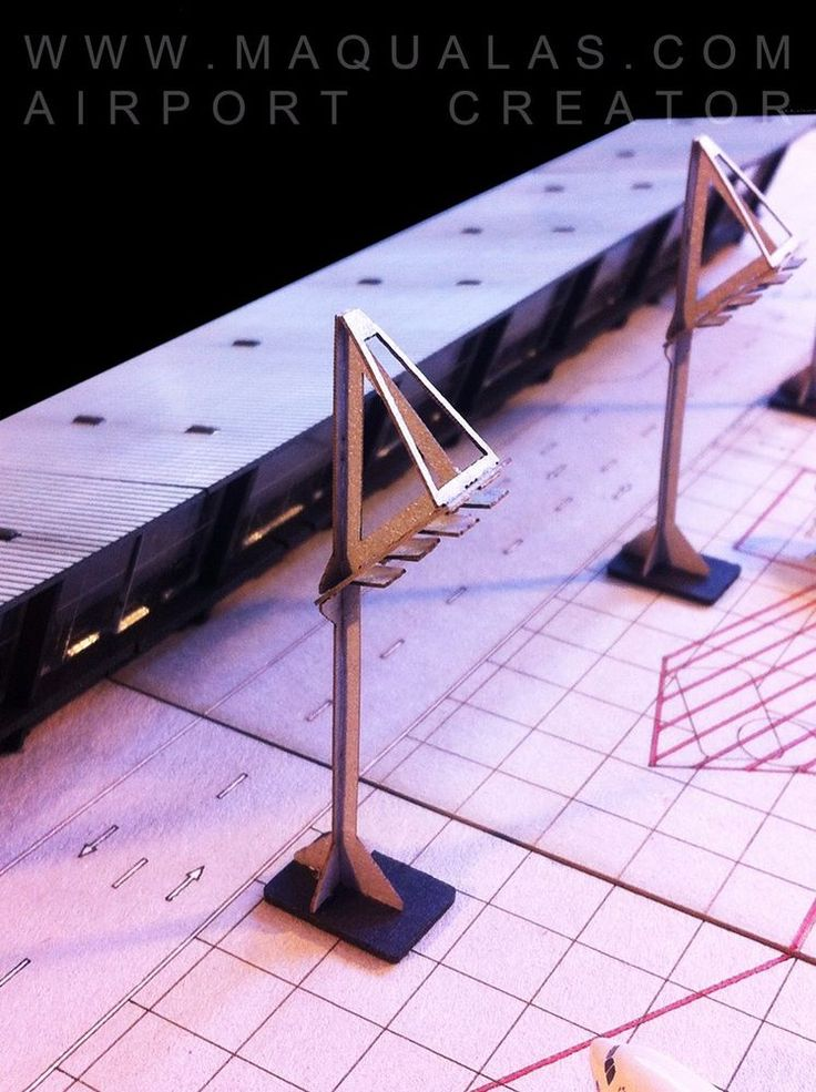 MAQUALAS Scale 1:500 Airport GSE, Flood Lights #MAQUALAS