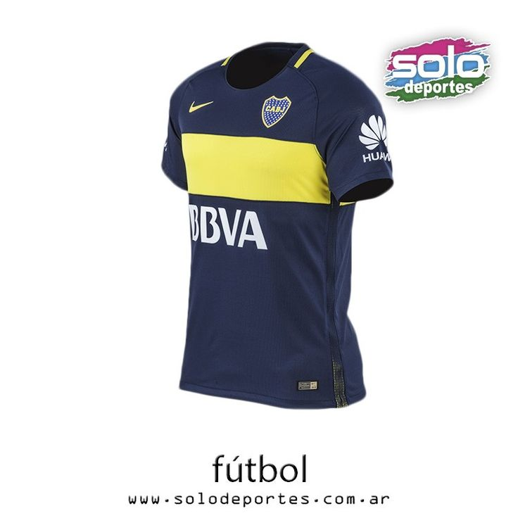 Camiseta Boca Jrs Oficial Match - Hombre - Indumentaria