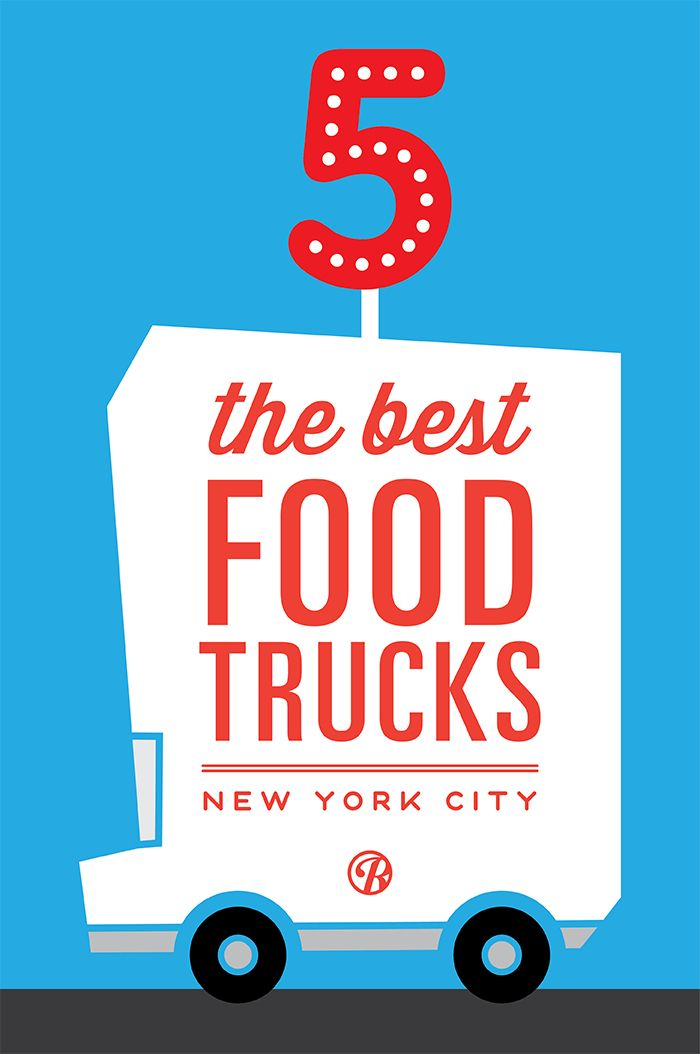 5 of New York City's BEST food trucks! http://food-trucks-for-sale.com/