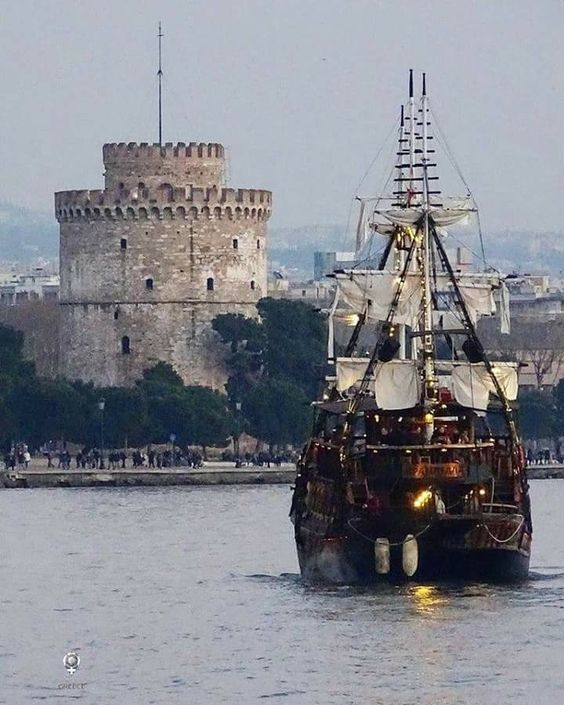 Thessaloniki the Capital of  Macedonia | Northern Greece.