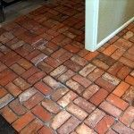 How to Clean Interior Brick Floors