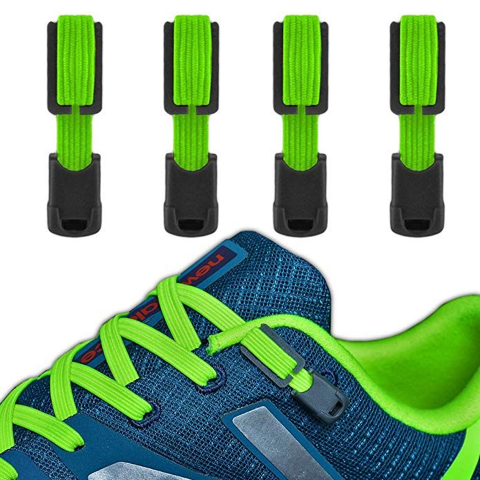 Tie Shoelaces System with Elastic Laces