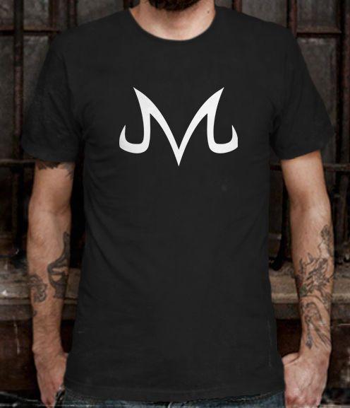 Hot New Vegeta Majin Logo Dragonball Z T-shirt Tee Size L (S to 3XL av)