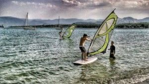 Windsurfung lessons from Extremers Base extremersbase.gr