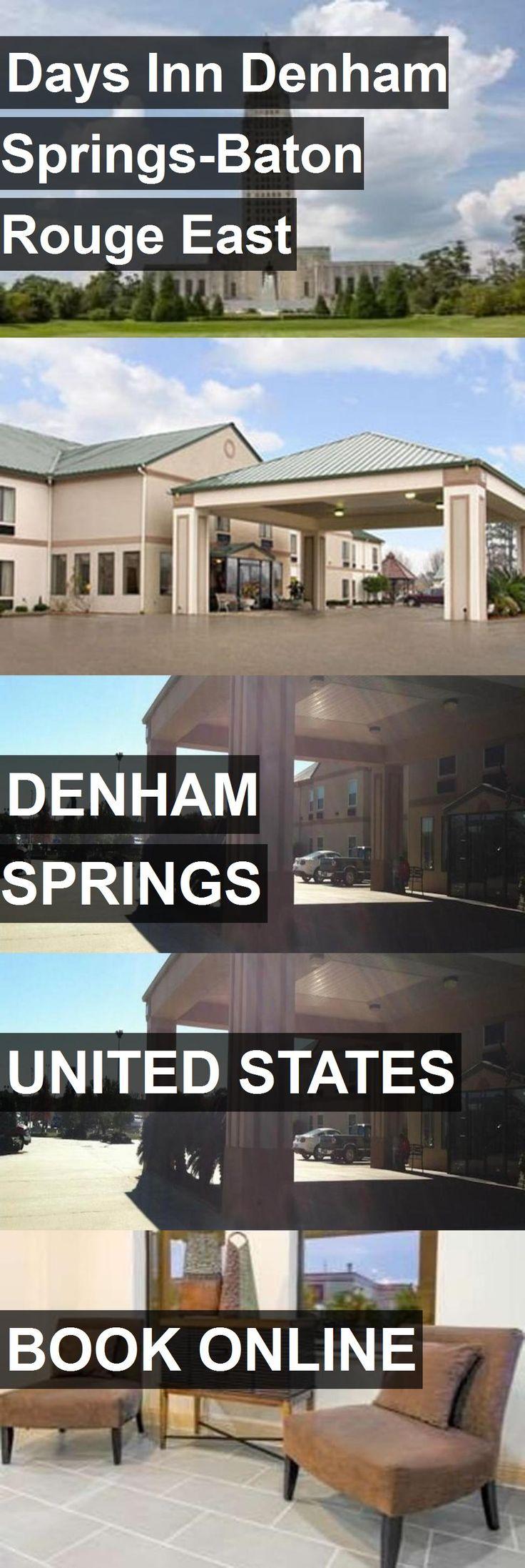 Hotel Days Inn Denham Springs-Baton Rouge East in Denham Springs, United States. For more information, photos, reviews and best prices please follow the link. #UnitedStates #DenhamSprings #DaysInnDenhamSprings-BatonRougeEast #hotel #travel #vacation