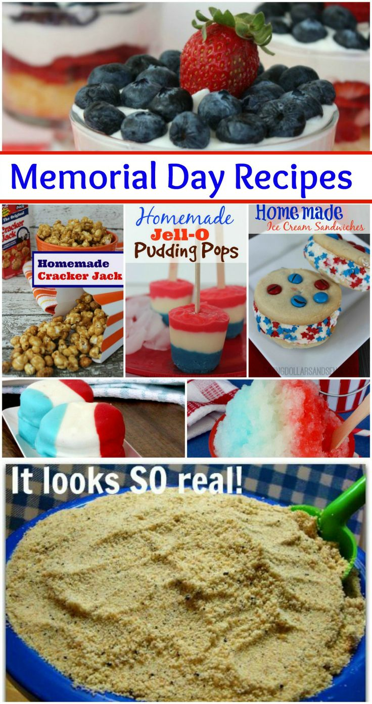 top 10 memorial day food