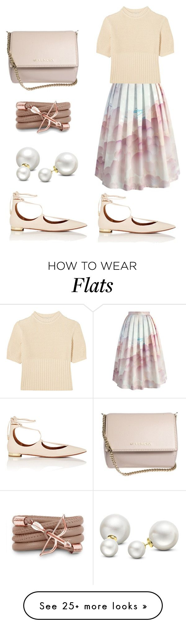 """""""Out for lunch"""" by miki78 on Polyvore featuring Chicwish, Totême, Aquazzura, Monza, Allurez and Givenchy"""