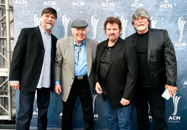 Randy Owen Photos Photos - Teddy Gentry of Alabama, Roy Clark, and Jeff Cook and Randy Owen of Alabama attend the 9th Annual ACM Honors at the Ryman Auditorium on September 1, 2015 in Nashville, Tennessee. - 9th Annual ACM Honors - Red Carpet