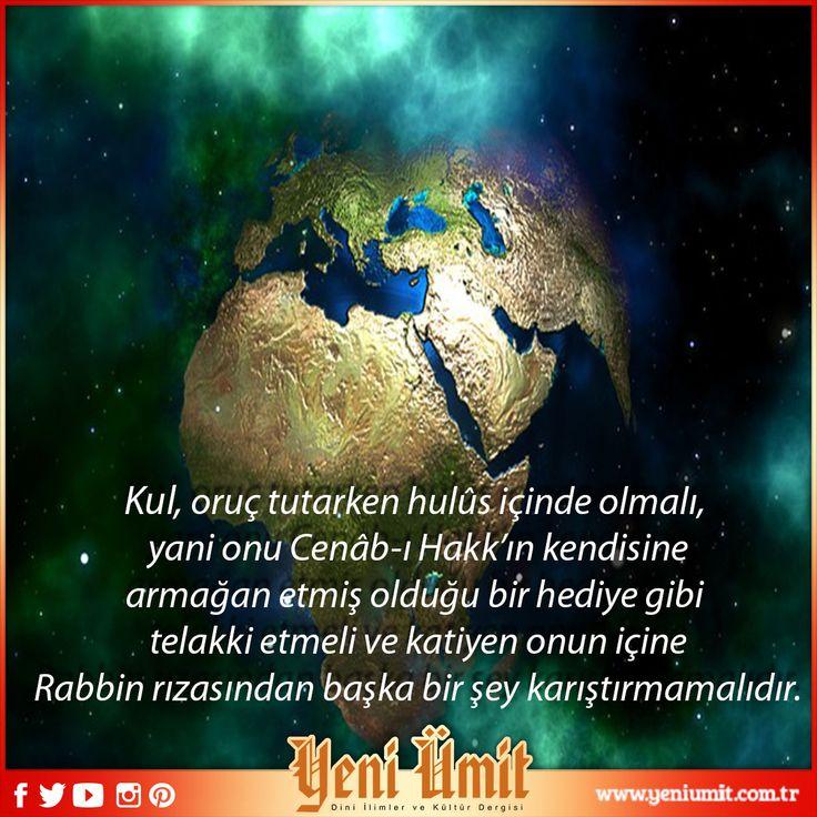 Prof. Dr. Suat YILDIRIM' Hocamızın 'Allah'ın Azametinin Oruçla İlânı'yazısı için: http://www.yeniumit.com.tr/konular/detay/allahin-azametinin-orucla-imtihani-109 #yeniümitdergi #yeniümit #dergi #yenisayı #kul #cenabıhak hediye #rab #rıza #islam #mümin #islamiyet oruç #oruc #imtihan