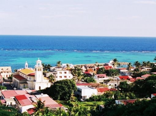 Picturesque Marie Galante in the French Caribbean