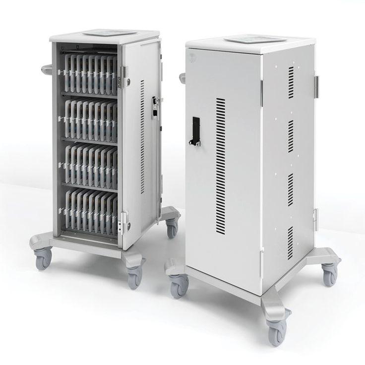 Tablet Charging Cabinet Carts - Mobile