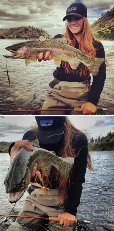 Rainbow trout fishing.For more fly fishing info follow and subscribe www.theflyr...