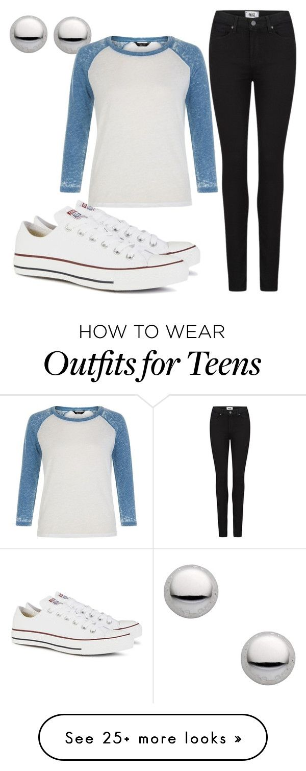 """Untitled #422"" by wwe-is-bae on Polyvore featuring moda, Marc by Marc Jacobs, Paige Denim e Converse"