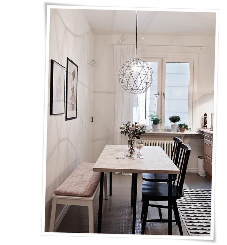 24 best Küche Esszimmer images on Pinterest Kitchen dining rooms - kleiner tisch küche