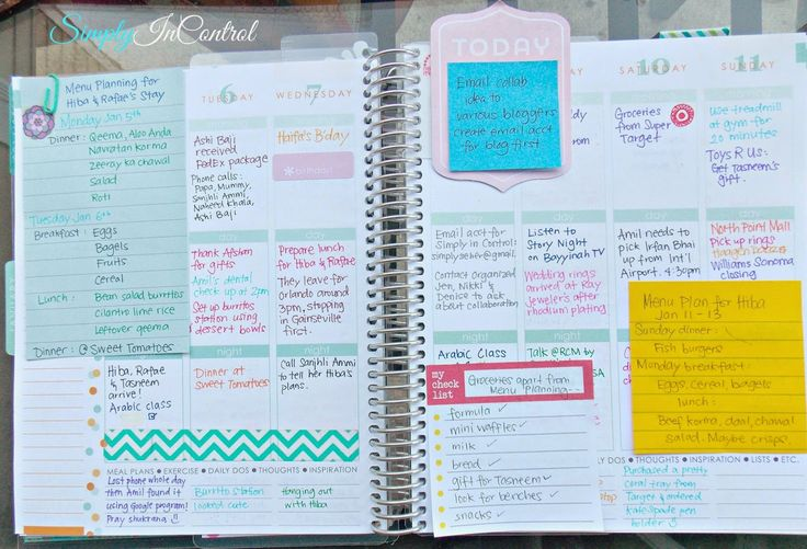 Honest Erin Condren Planner Review and How to Personalize SIMPLY! Ideas for busier weeks  #weloveec #erincondren  http://simply-in-control.blogspot.com