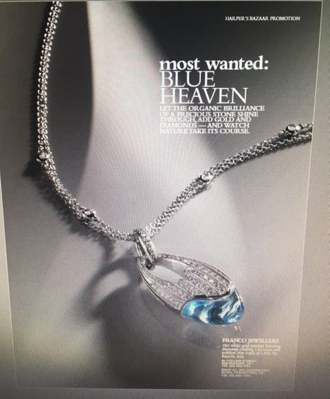 Franco Jewellers #flashbackwednesday. we advertised this beauty in Harpers bazaar in the 90s and still this piece is gorgeous ..What do you think ? #finejewellery #francojewellers #bianchigioelli #chadstone #collinsstreet #since1968  Jewellery with style and Conviction  www.franco.com.au