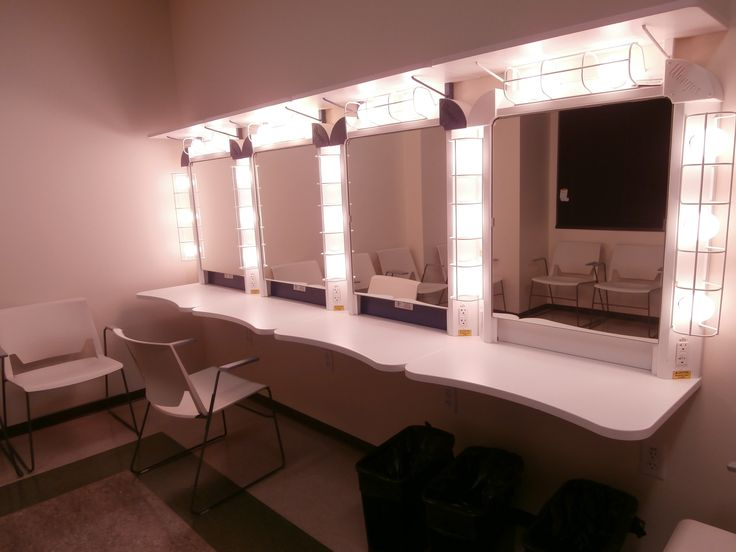 Backstage Dressing Room Mirror Viewing Gallery Mk Box