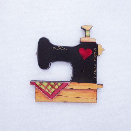 #AD133 - Aplique decorado de máquina de costura nº2