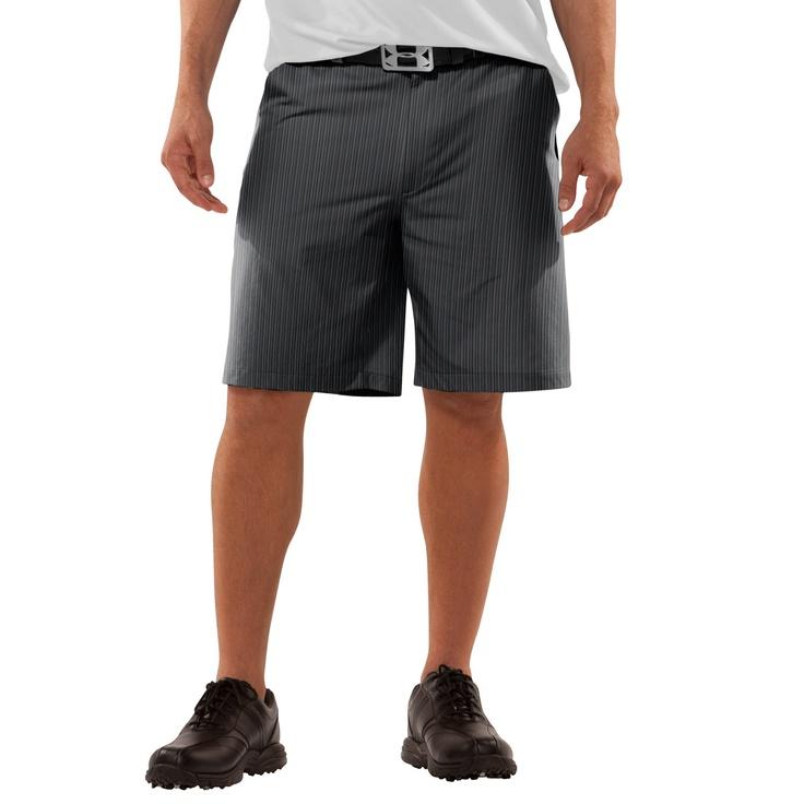 Under Armour Men's UA Forged Stripe Golf Shorts 2.0