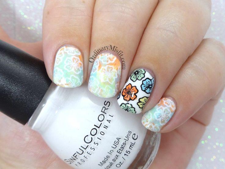 52 week nail art challenge - Week 37: Flowers