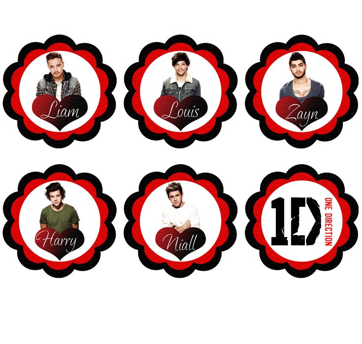 291 best one direction printables images on pinterest | printables, Printable invitations