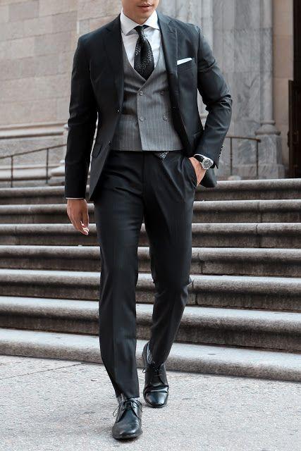 9ee5a983b37 David Beckham Royal Wedding Inspired Suit Look Leo Chan