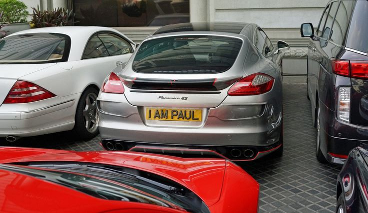 https://flic.kr/p/x7gopY | Car Number Plate - I AM PAUL | I am GROOT!!