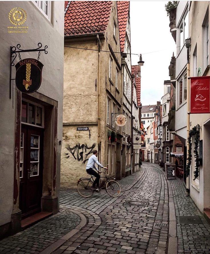 Schnoorviertel Bremen, Germany