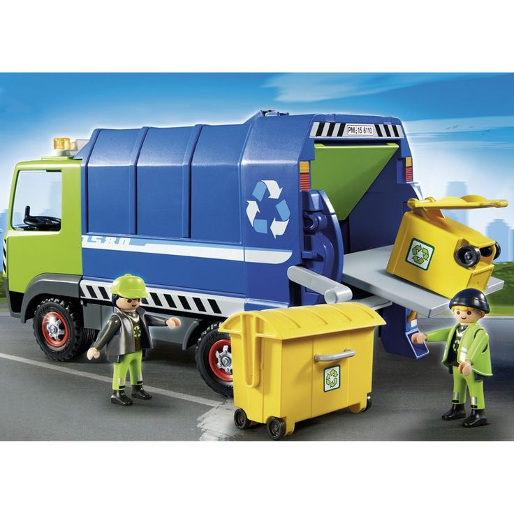 Camion de recyclage ordures - Playmobil City Action 6110