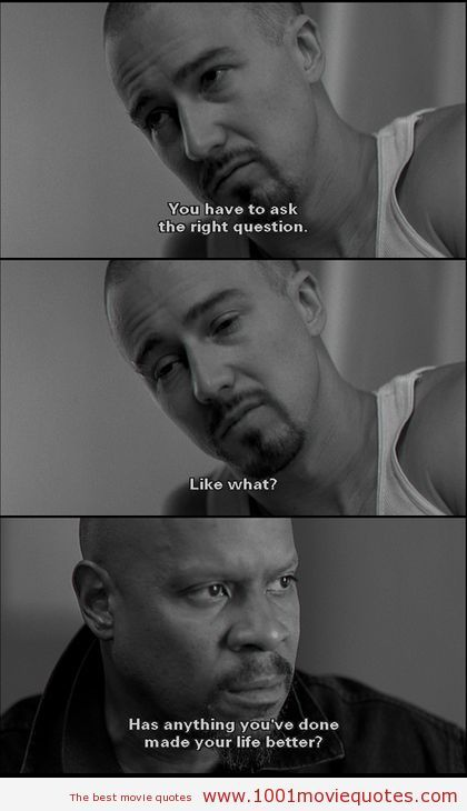 American History X(1998) | 1001 Movie Quotes