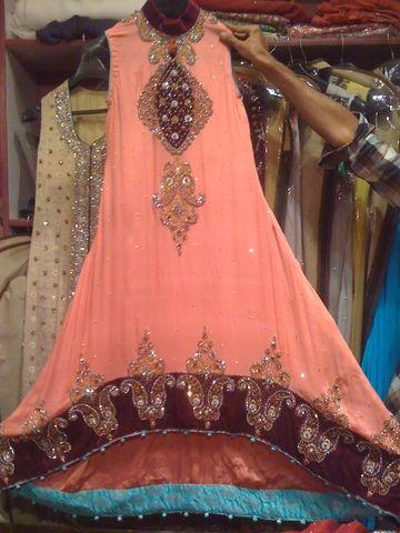 Pakistani tail dresses