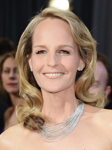 Famous Actress Helen Hunt wearing Hint of Pink.