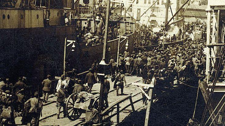 Η εγκατάλειψη της Ανατολικής Θράκης το 1922.: Μικρασιατική Καταστροφή.